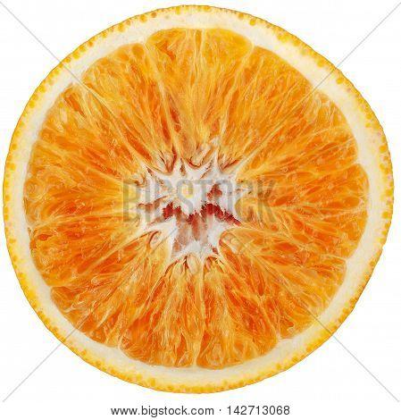 orange cut in half looks like a circle