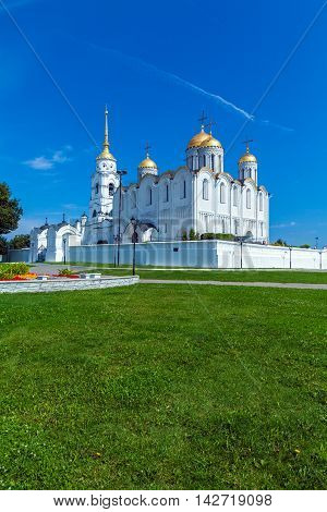 Dormition Cathedral (1160) In Vladimir, Russia