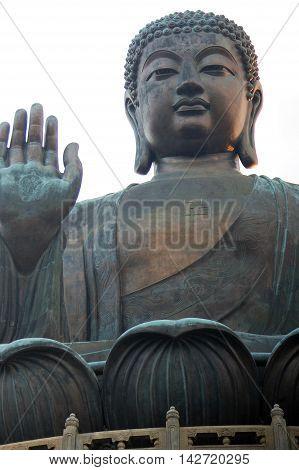 hong kong tian tan buddha big buddha po lin monastery lan tau island