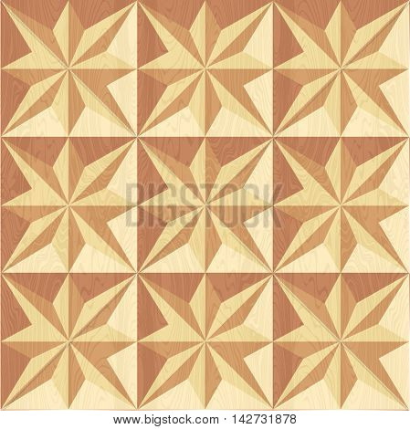 Geometric pattern for wood carving.