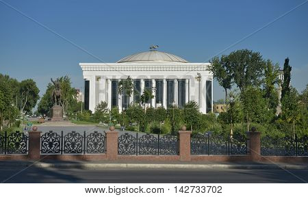 Tashkent, Uzbekistan - July 02, 2014: the Palace of international forums