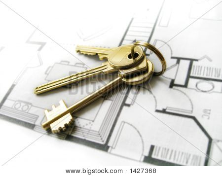 Gold Keys For The New Home