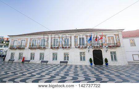 Municipal Hall Of Cascais, Portugal