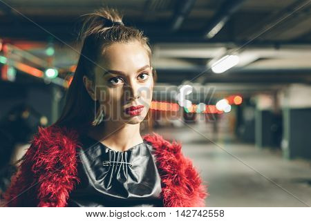 Magnificent Portrait Of A Beautiful Young Woman