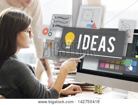 Ideas Innovation Creativity Plan Thoughts Concept