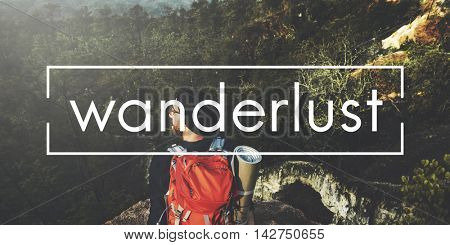 Wanderlust Tour Trip Vacation Concept