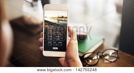 Flight Booking Plane Travel Journey Concept