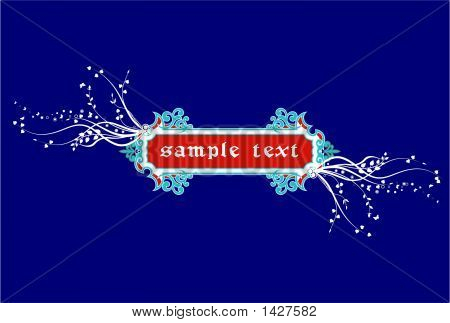 Abstract  Frame, Elements For Design, Vector Illustration