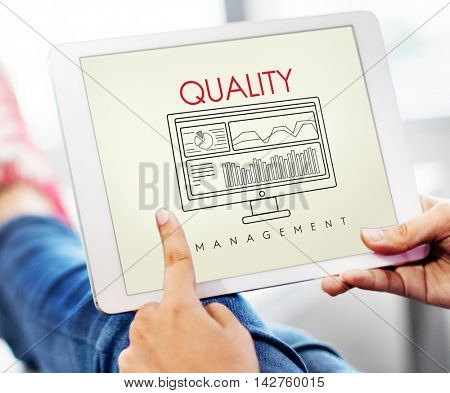 Business Quality Guarantee Standard Promise Concept