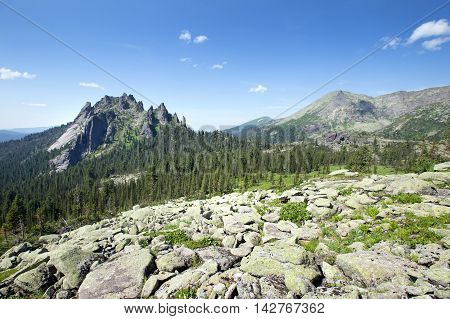 Turtle Mountain In The Mountain Ergaki Western Sayan