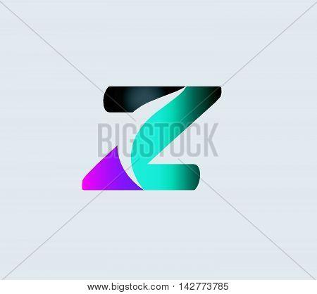 Letter Z logo. Letter Z  logo icon design template elements