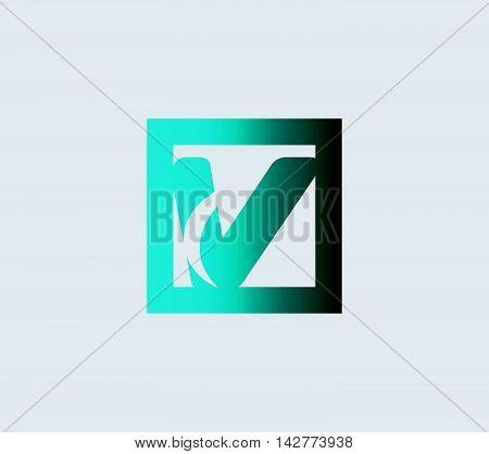 Letter V logo icon design symbol vector