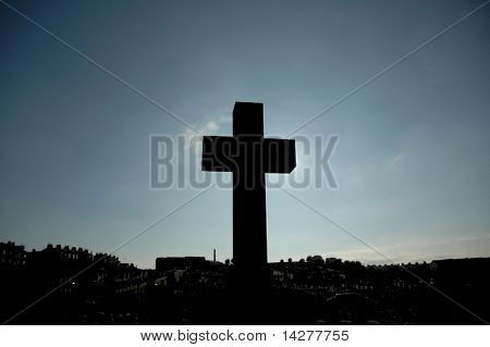 Cross blocking the Sun