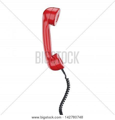 3D Rendering Old Phone Handset