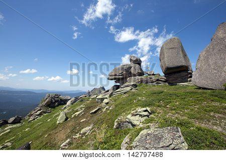 Turtle Mountain In The Western Sayan