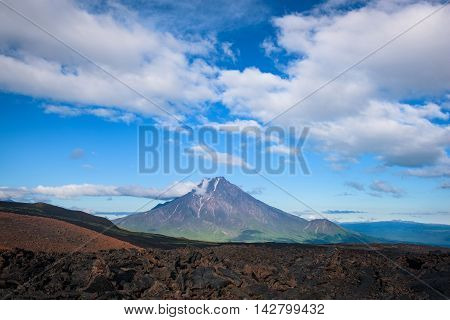 Malaya Udina Volcano near Tolbachik Volcano, Kamchatka, Russia