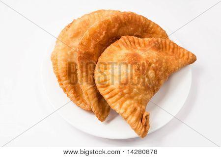 Empanadas en blanco