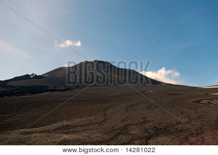Volcano Mountain Etna, Sicily, Italy