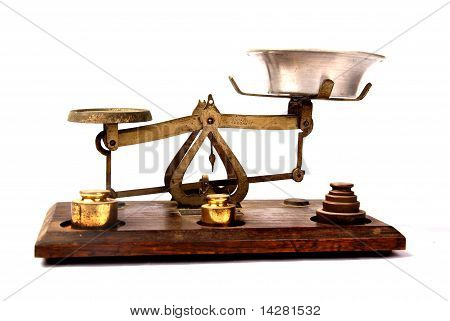 Antique Bronze Scale