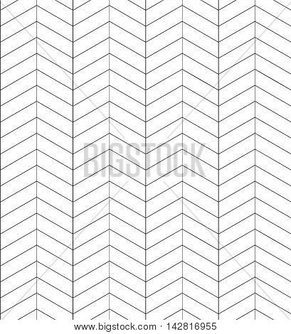 Seamless black and white herringbone texture. Vector background for greeting cards wrapping paper and your creativity