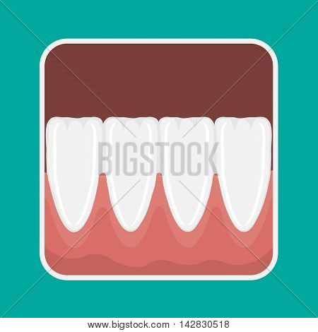 Vector Icon Incisors Teeth