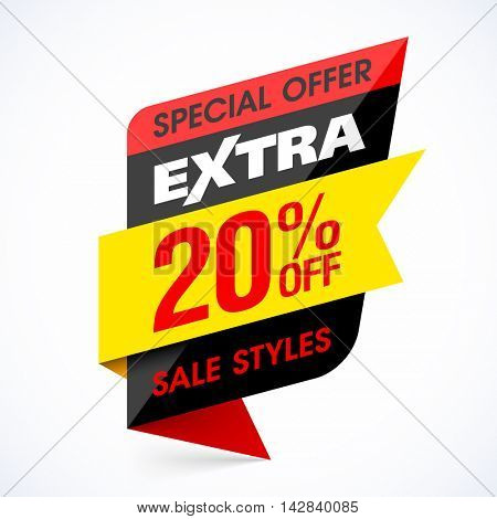 Extra Sale banner