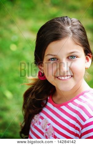 Beautiful, happy girl