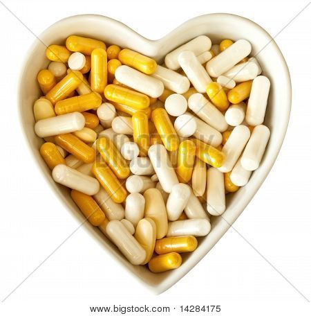 Heart full of pills