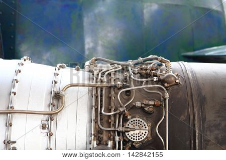 Engine Of Old Missile