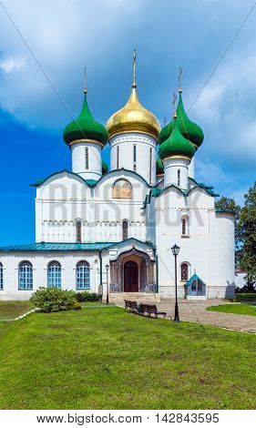 Cathedral Of Transfiguration Of The Saviour, Monastery Of Saint Euthymius, Suzdal