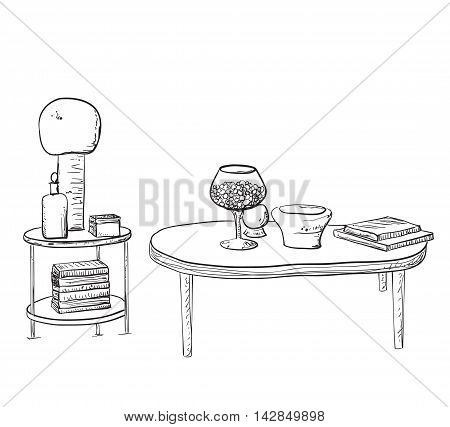 Furniture and Home Accessories - Set of design elements