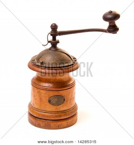 Old Wooden Coffee grinder