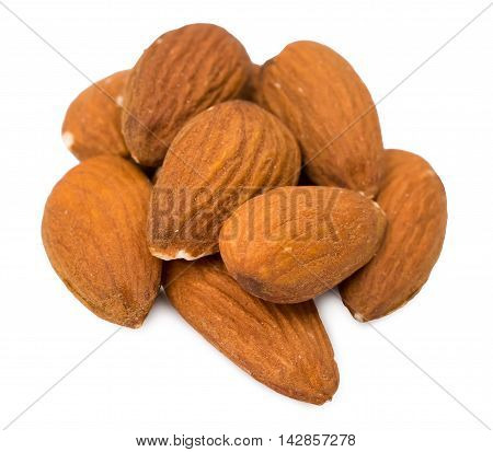 Nuts almonds isolated d d d d