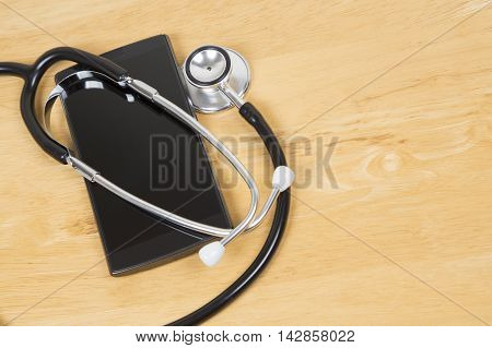 Booking Doctors Appointment On Smart Phone App.