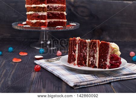 Piece Of Cake A Red Velvet