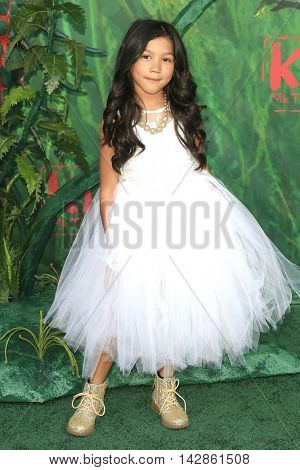 LOS ANGELES - AUG 14: Txunamy Ortiz at the premiere of Focus Features' 'Kubo and the Two Strings' at AMC Universal City Walk on August 14, 2016 in Los Angeles, California