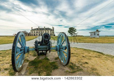 Old Fort Niagara near the Town of Buffallo