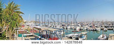 Alcudia Port Panorama, Majorca