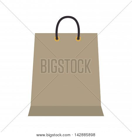 bag shop shopping gift packet store paper purchase vector  isolated and flat illustration