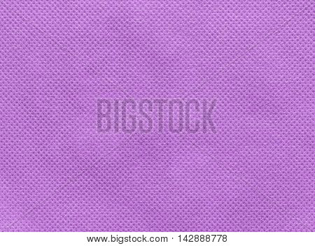 Close up of  pink nonwoven fabric texture background