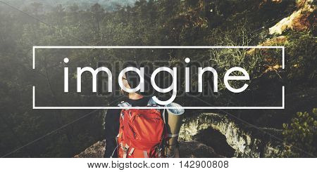 Imagine Dream Creative Ideas Thinking Vision Concept