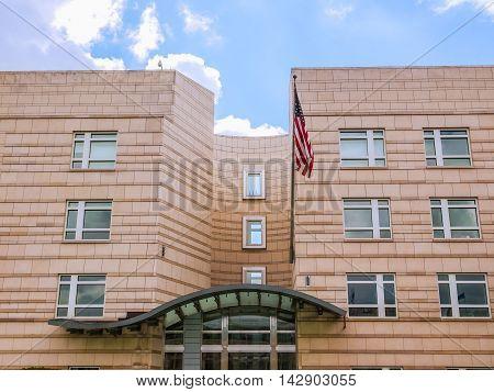 American Embassy In Berlin Hdr