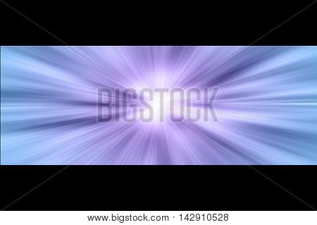 Star gate space in hd burst.   Blue white and purple