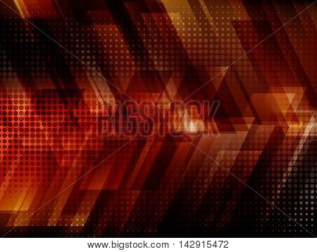 Abstract digital technology background with stripes, Vector illustration