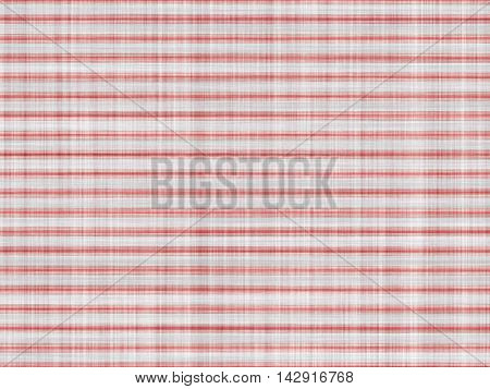 Large fabric texture with red horizontal pattern.