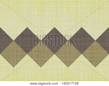 Yellow cloth with large squares, artistic background
