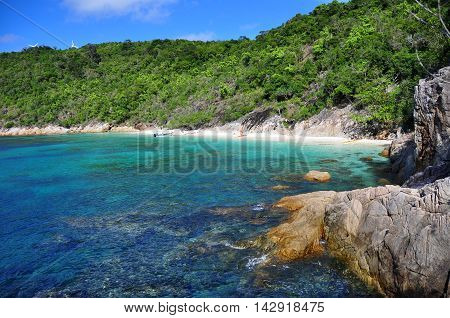 View from the beautiful Perhentian island, Malaysia