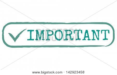 Important Priority Issues Order Effciency Graphic Concept