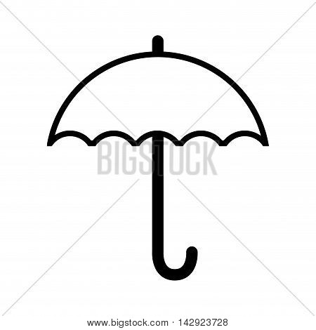 umbrella rain weather water parasol safety season vector illustration isolated