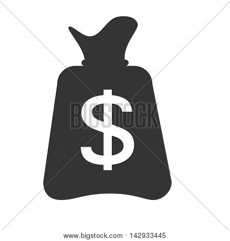 money sack bag bank banking business moneybag vector illustration isolated